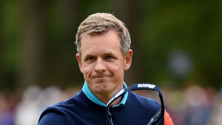 Luke Donald is hosting this year's British Masters at The Grove in October