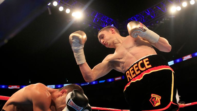 Reece Bellotti is a featherweight with a frightening KO ratio