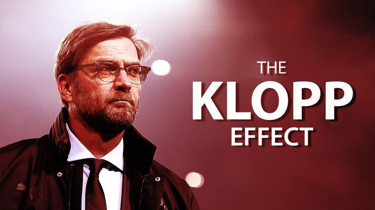 There was some evidence of Jurgen Klopp's impact at White Hart Lane