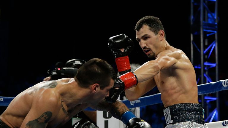 Viktor Postol was crowned the new WBC super-lightweight champion after knocking out Lucas Matthysse