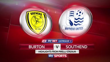 Burton 1-0 Southend