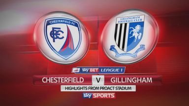 Chesterfield 1-3 Gillingham