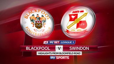 Blackpool 1-0 Swindon