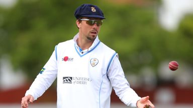 Billy Godleman will remain with Derbyshire until the end of the 2017 season