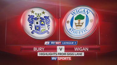 Bury 2-2 Wigan