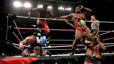 The New Day are becoming a potent force in WWE