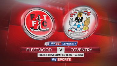 Fleetwood 0-1 Coventry