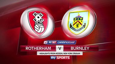 Rotheram 1-2 Burnley