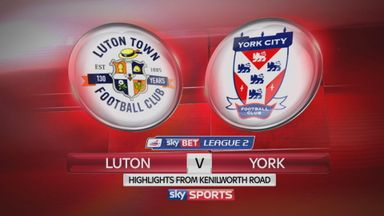 Luton 1-1 York