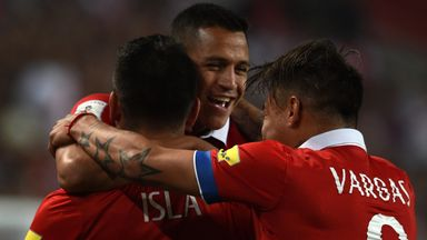 Chile's Alexis Sanchez will be involved in the World Cup qualifiers