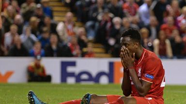 Divock Origi missed two second half chances as Liverpool were held at home by FC Sion