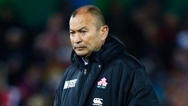 Eddie Jones feels England need an experienced man at the helm