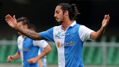 Ezequiel Schelotto spent last season on loan at AC Chievo
