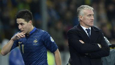 Samir Nasri has a fractious relationship with France head coach Didier Deschamps