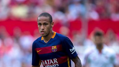 Manchester United were reportedly trying to sign Neymar this summer