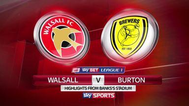 Walsall 2-0 Burton