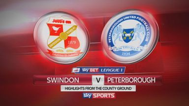 Swindon 1-2 Peterborough