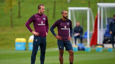 Harry Kane and Theo Walcott pushing for a start upfront against Estonia on Friday