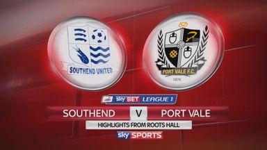 Southend 1-0 Port Vale
