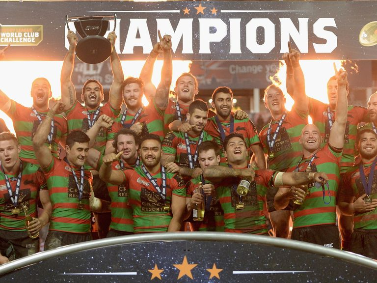 South Sydney Rabbitohs won the World Club Challenge after beating St Helens
