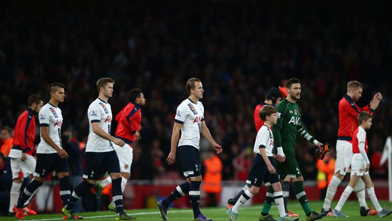 Tottenham sit just four points behind joint-leaders Arsenal in the Premier League