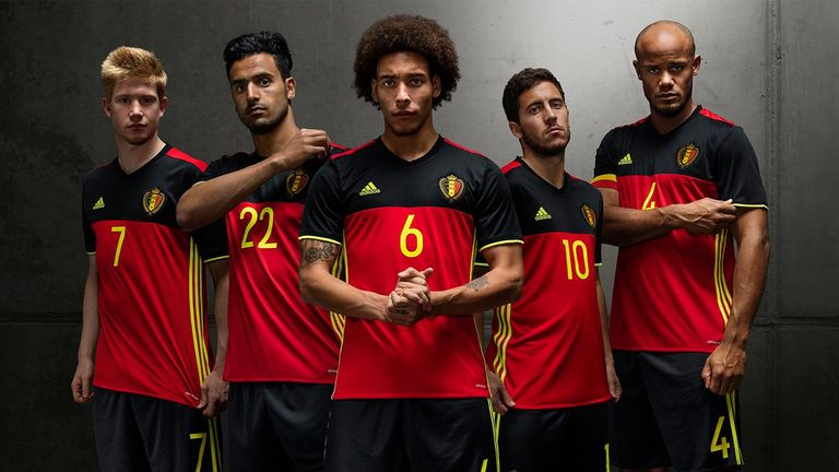 Belgium, currently ranked No 1 by FIFA, will wear their traditional colours in France