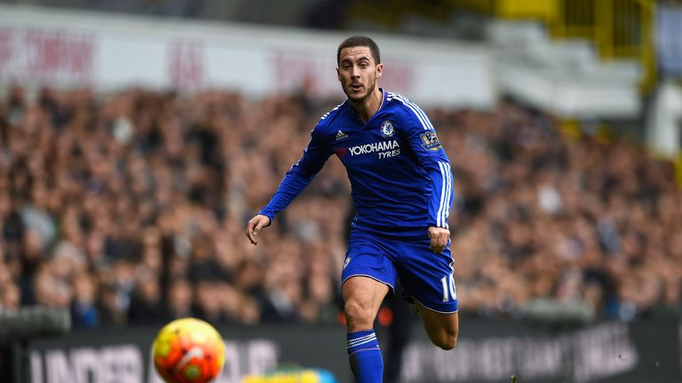 Eden Hazard scooped several awards last season