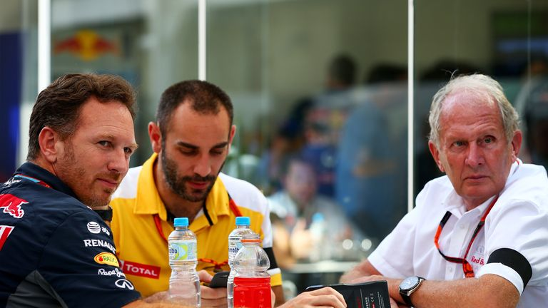 Friends again: Red Bull are understood to have signed a new deal with Renault for 2016