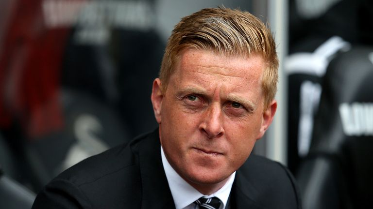 Monk was sacked after Swansea went on a poor run of form late last season