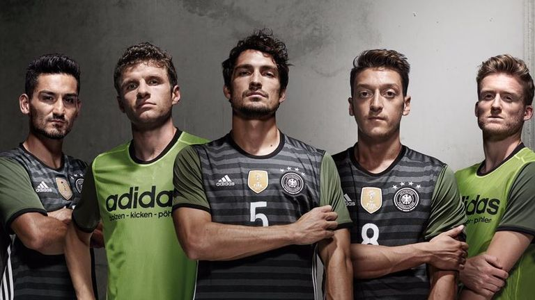 World champions Germany will be wearing this away kit