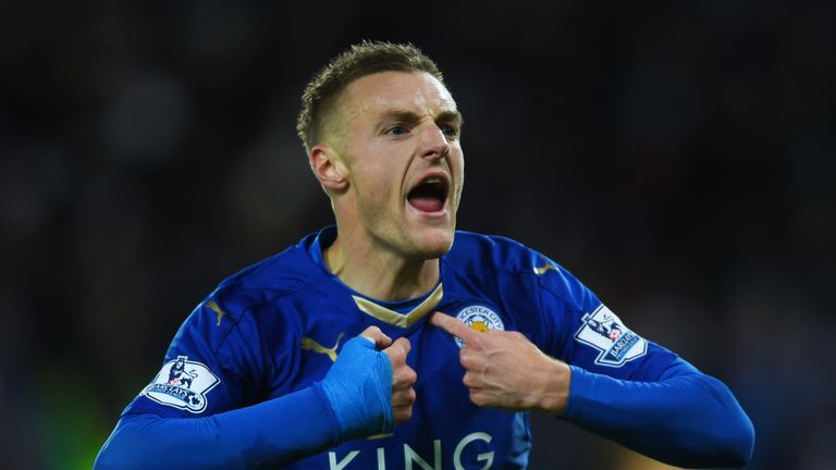 Jamie Vardy has been available for every Leicester game this season