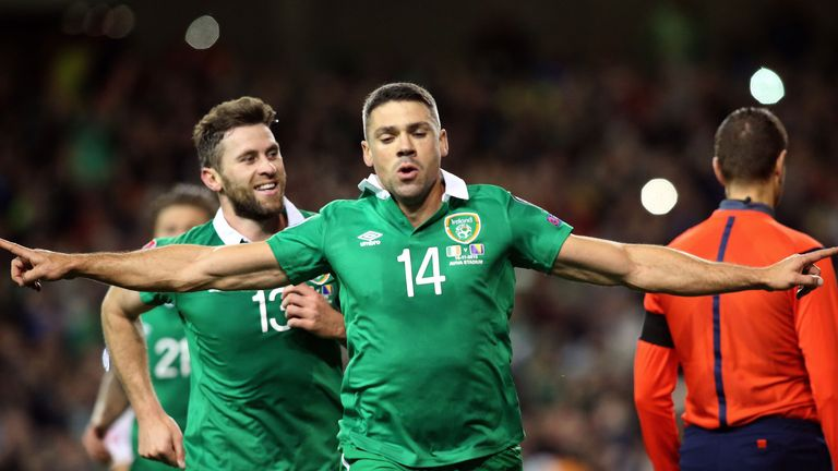 Jonathan Walters will be happy if Ireland's hopes are being written off