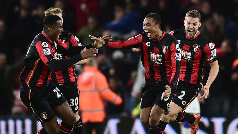 Bournemouth's players have covered the most ground in the Premier League