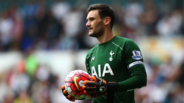 Hugo Lloris has been ruled out with a shoulder injury