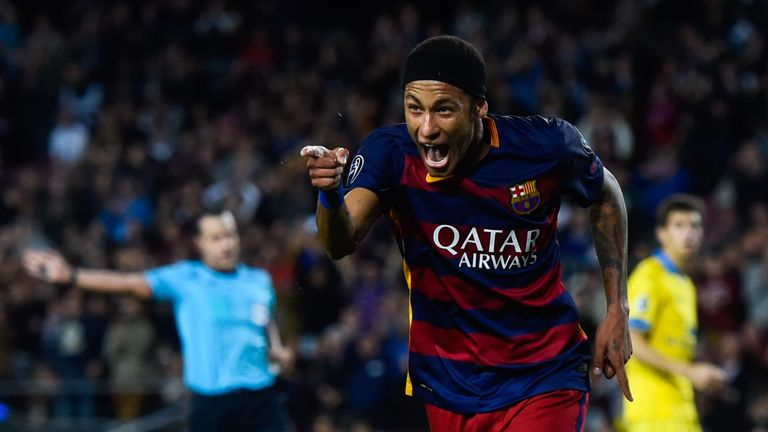 Neymar has shone for Barcelona in recent months