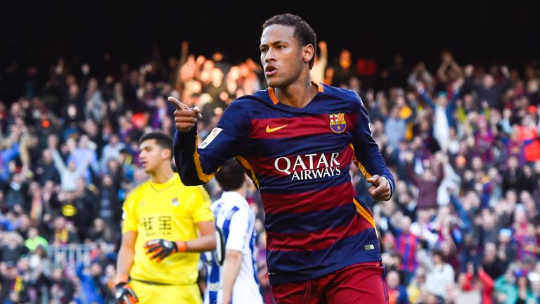 United 'made world record bid for Neymar'