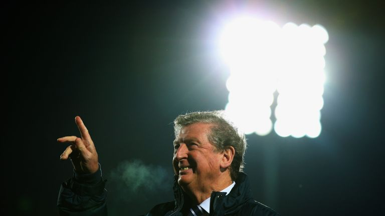 England's Roy Hodgson started his coaching career with Halmstads in Sweden