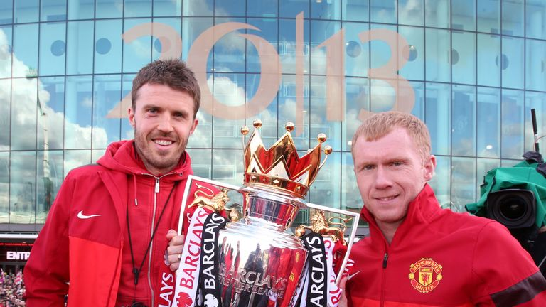 Carrick and Scholes shared great success together at United
