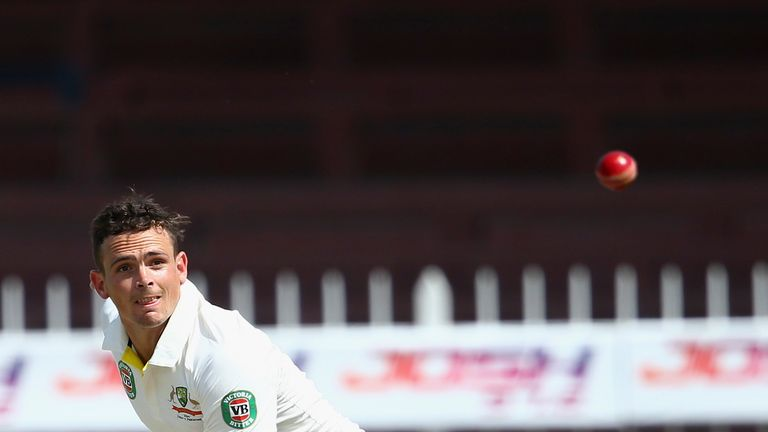 Steve O'Keefe is back in contention for Australia ahead of the Test series in India
