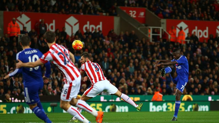 Ramires' shot forced Butland into a decent save in the first half.
