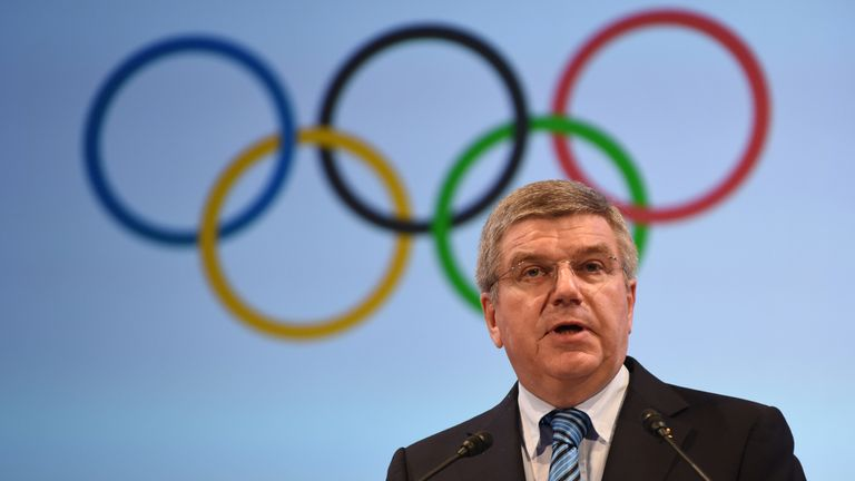 "IOC president Thomas Bach awarded Carlos Nuzman the ""Olympic Order"""