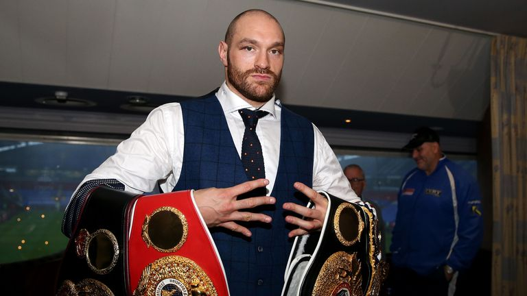 Tyson Fury says he has been to a meeting in London regarding his next fight