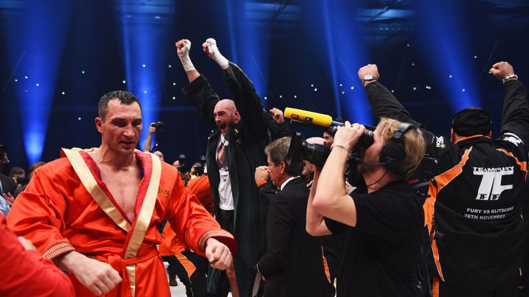Fury has not fought since his victory over Klitschko in Dusseldorf two years ago