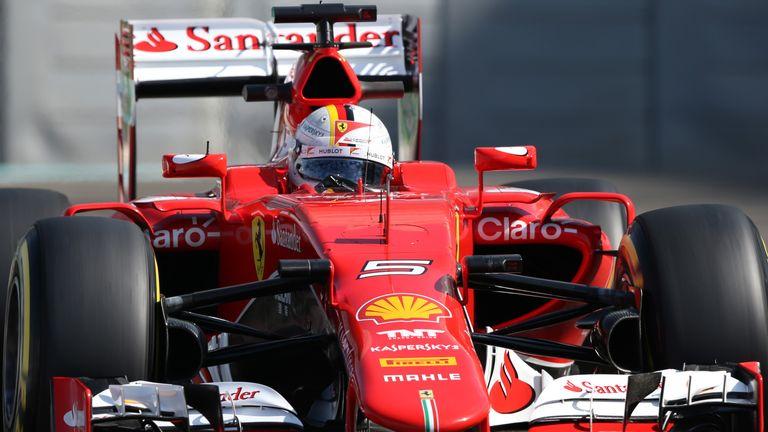 Sebastian Vettel is expected to lead Ferrari's challenge to Mercedes in 2016