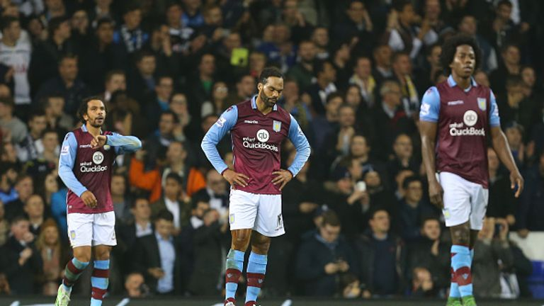 Aston Villa are without a win in 15 league games, and sit bottom of the table