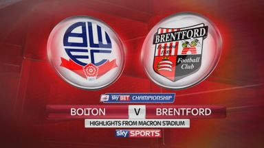 Bolton 1-1 Brentford