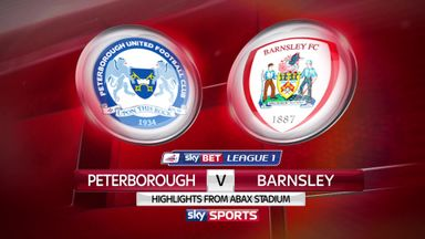 Peterborough 3-2 Barnsley