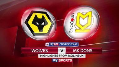Wolves 0-0 MK Dons