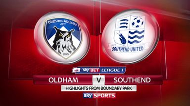 Oldham 2-5 Southend