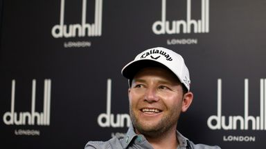Branden Grace heads in to this week as defending champion